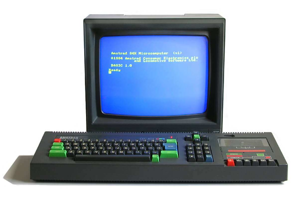 image from Our First Computer Amstrad CPC 464